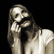 Movember Seventh Art Print by Ashley King