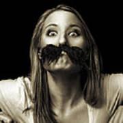 Movember Twelfth Art Print by Ashley King