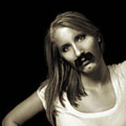 Movember Twentyfourth Art Print by Ashley King