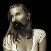 Movember Twentyninth Art Print by Ashley King
