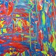 Movements Of Acrylic Art Print