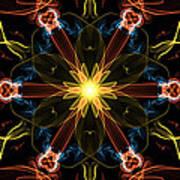 Moveonart Omnetra Star Thankful Portland Oregon Usa 2013 Art Print