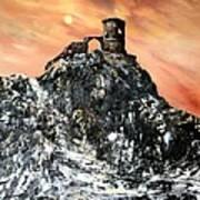Mow Cop Castle Staffordshire Art Print