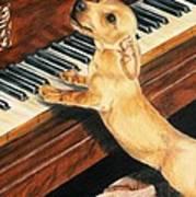 Mozart's Apprentice Art Print