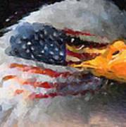 Mr. American Eagle Art Print