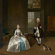 Mr And Mrs Atherton Art Print