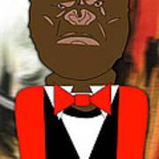 Mr Ape Art Print
