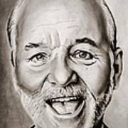 Mr Bill Murray Art Print