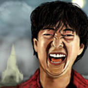 Mr. Chow Hangover Part 2 Art Print