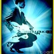 Mr Chuck Berry Blueberry Hill Style Edited 2 Art Print