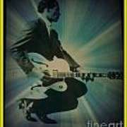 Mr. Chuck Berry Blueberry Hill Style Art Print