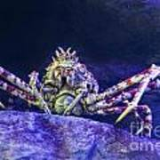 Mr Crab Art Print