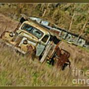 Mr Greenjeans Truck Art Print