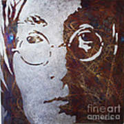 Mr Lennon Art Print