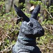 Mr Rabbit 2 Art Print