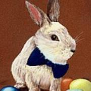 Mr. Rabbit Art Print