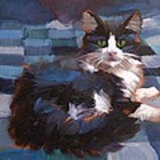 Mr. Tuxedo Art Print