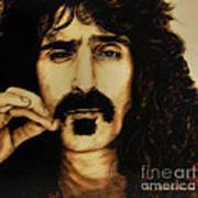 Mr Zappa Art Print