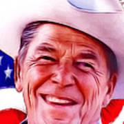Mr.president 2 Art Print