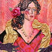 Mrs. Dedlocke Art Print by Diane Fine