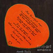 Mrs. Heartfelt Says Art Print