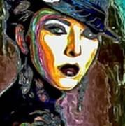 Ms Boss Lady Art Print