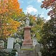 Mt Auburn Cemetery 1 Art Print