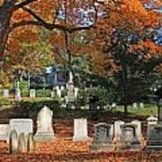 Mt Auburn Cemetery 12 Art Print
