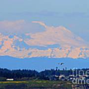 Mt. Baker Of Pacific Northwest Art Print