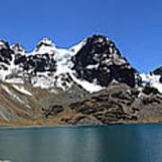 Mt Condoriri Panorama Art Print