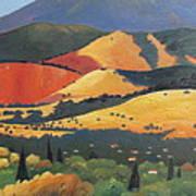 Mt. Diablo 1 Art Print