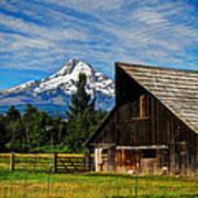Mt Hood Oregon Art Print