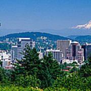 Mt Hood Portland Oregon Usa Art Print