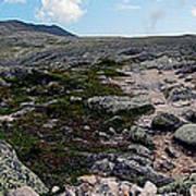 Mt Katahdin Appalachian Trail Art Print