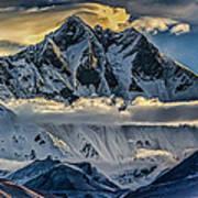 Mt Lhotse Art Print