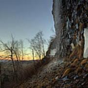 Mt Mckay Spring Waterfall Art Print