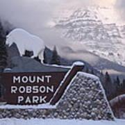 Mt Robson  Art Print