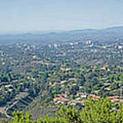 Mt. Soledad - View To The North Art Print