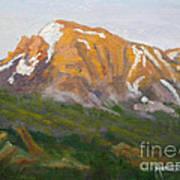Mt. Tekarra Art Print
