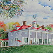 Mt. Vernon In The Fall Art Print