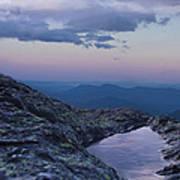 Mt. Washington  Blue Hour Art Print