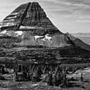 Mt. Wilbur-hidden Lake Art Print