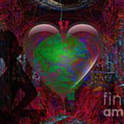 Mucha Love  Art Print