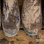 Muddy Boots On Deck Art Print