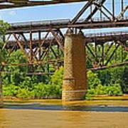 Muddy Mississippi Art Print
