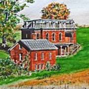 Mudhouse Mansion Art Print