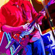 Muffler Guitar Art Print