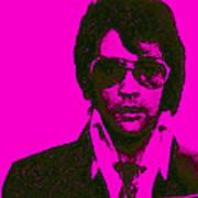 Mugshot Elvis Presley M80 Art Print