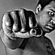 Muhammad Ali Fist Art Print