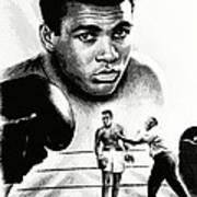 Muhammad Ali The Greatest Art Print